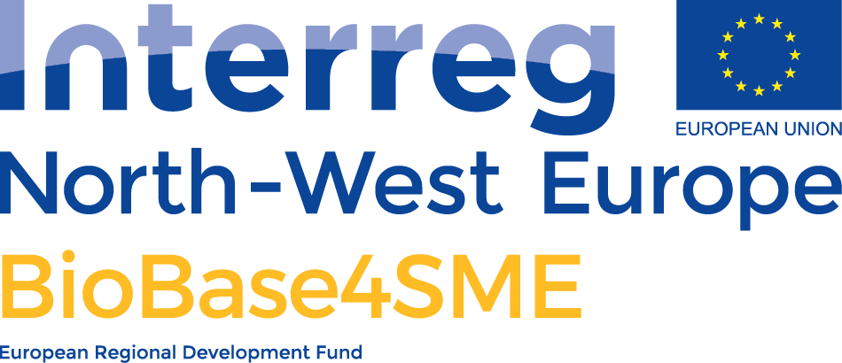 Logo Interreg North-West Europe project BioBase4SME